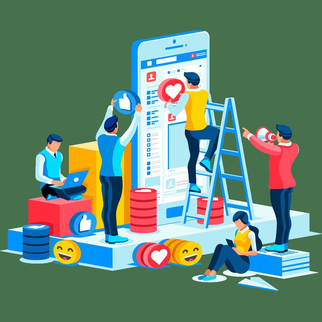 Gestione profili social e Digital advertising