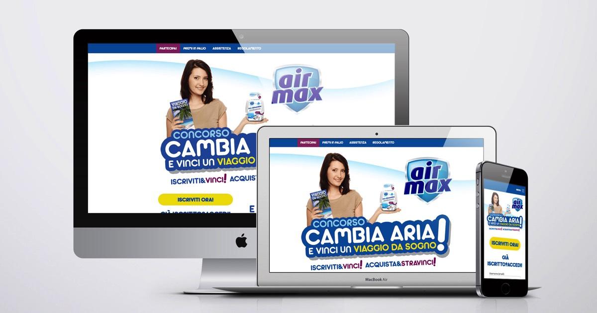 Creazione e gestione concorso a premi Air Max Cambia aria!